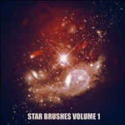 Star brushes volume 1  photoshop brushes