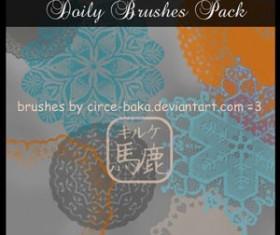 Doily Brushes Pack Photoshop Brushes