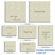 Link toFloral cardboard template