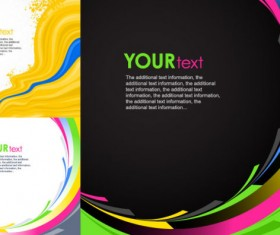 dynamic lines background design elements