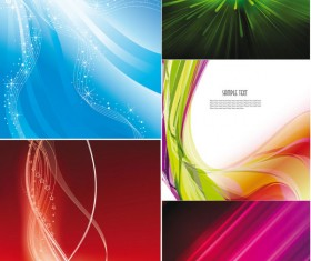 Dazzle bright background design elements