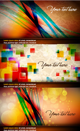 Abstract colored fantasy background vector graphic