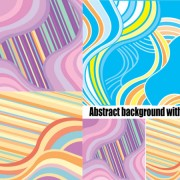 Link toAbstract background articles vector