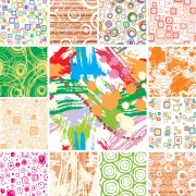 Link toModern pattern background vector graphic