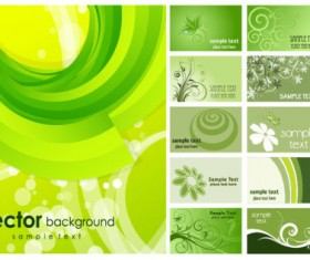 variety of commonly used background vector graphic