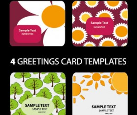 Lovely card background vector Graphic