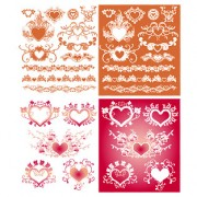 Link toFloral and frames vector