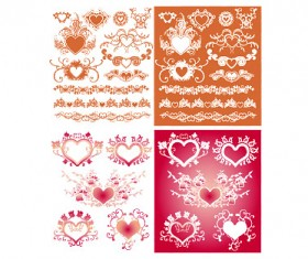 Floral and Frames vector