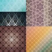 Beautiful decorative pattern design elements