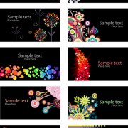 Link toBeautiful cards background vector