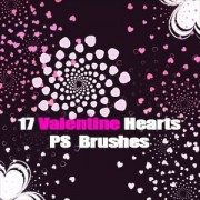 Link toFree hearts photoshop brushes