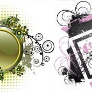 Link toFloral decorative frame vector