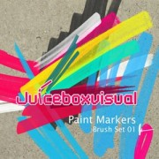 Paint markers photoshop brushes