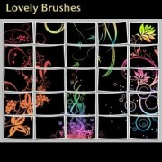 Link toLovely photoshop brushes
