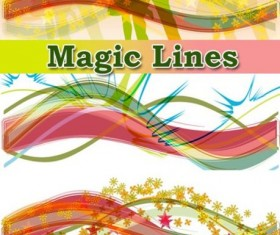 fall line background Vector Graphic