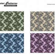 Link toRotating decorative pattern background vector