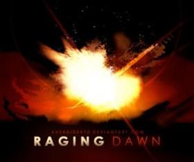 Raging Dawn Photoshop Brushes