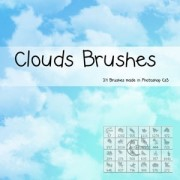 Clouds brushes  photoshop brushes