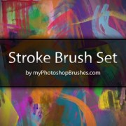 Link toStroke brush set photoshop brushes