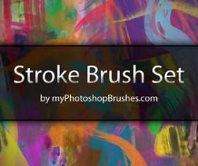 Stroke Brush Set Photoshop Brushes