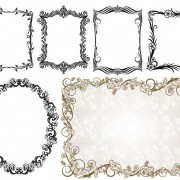 Link toCommonly used ornate border vector