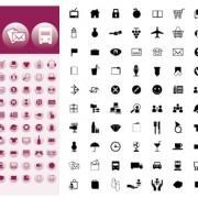 Link toSimple graphic icons vector
