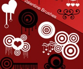 Valentine Brushes  Photoshop Brushes