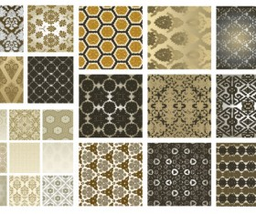 Antique decorative pattern background vector art