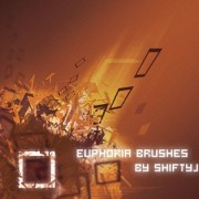 Euphoria brushes  grunge set of vector brush pack photoshop brushes