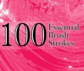 100 Essential Brush Strokes Photoshop Brushes