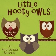 Link toLittle hooty owls photoshop brushes