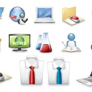 Link toExquisite commercial icon 2 vector