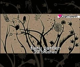 Fairy Garden PS Brush Set Photoshop Brushes