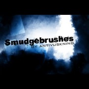 Smudge photoshop brushes