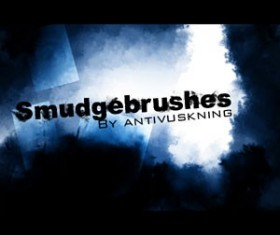 Smudge Photoshop Brushes