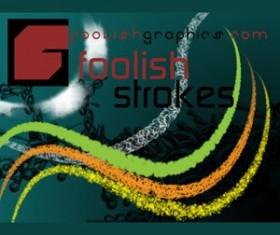 Foolish Strokes 1 Photoshop Brushes