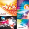 Dream of colorful background design elements