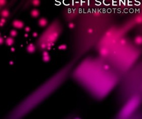 SciFi Scenes Pack 1 Photoshop Brushes