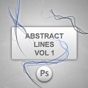 Link toAbstract lines vol1 photoshop brushes