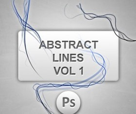 Abstract Lines vol1 Photoshop Brushes