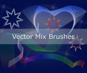 Set of vector Photoshop Brushes