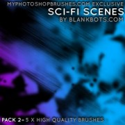 Link toScifi scenes pack 2 photoshop brushes