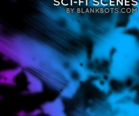 SciFi Scenes Pack 2 Photoshop Brushes
