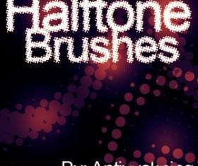 Halftone Brushpack Photoshop Brushes