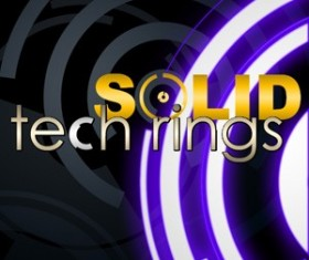 Solid Tech Rings Photoshop Brushes