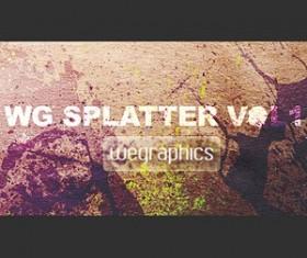 WG Splatter vol 1 Photoshop Brushes