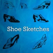 Link toShoes sketches photoshop brushes