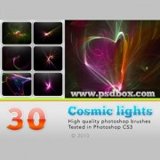 Link toCosmic lights photoshop brushes