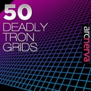 Link to50 deadly tron grids photoshop brushes