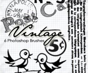 Vintage Photoshop Brushes